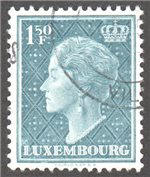 Luxembourg Scott 255 Used